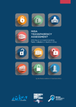 MISA transparency assessment